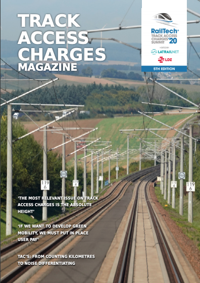 Track Access Charges Magazine cover
